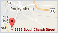 Google Map of Rocky Mount Plant